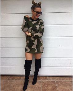 #army mäkkučký-teplúčky  sveter/ pre tie odvážnejšie aj ako šaty  UNI využi bleskové doručenie a vytešuj sa z neho na další pracovný deň 2490 #collection#tvojstylfashion#army#fashionbloggeritalia#lovemoda#dnesnosim#dnesobliekam#fashionista#fashionblogger#moda