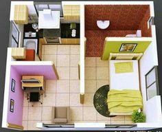 Small home interior design videos india ideas modern tiny house Interior Design Videos, Small House Interior Design, Tiny House Design, Interior Ideas, Simple Kitchen Design, Simple House Design, Minimalist House Design, Small House Living, Modern Tiny House