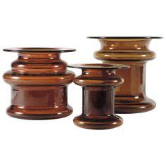 """Timo Sarpaneva """"Novitas"""" Set of Vases for Iittala For Sale at 1stdibs"""