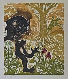 Ken Kiff - The Master of Saint Giles, Woodcut...