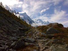 Chamonix, somewhere between Montenvers & the Plan de l'aiguille, October 13