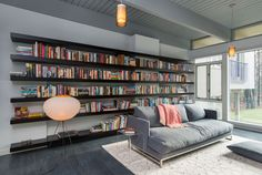 shelves. click for other interior inspiration. Mid Century Modern House by Flavin Architects, Lincoln, USA   DesignRulz.com