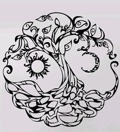 Mother nature tattoo goddesses tree of life urban threads trendy ideas Mother nature tattoo godd 1 Tattoo, Body Art Tattoos, Sketch Tattoo, Snake Tattoo, Tatoos, Tree Of Life Artwork, Tree Art, Mother Nature Tattoos, Tattoo Nature