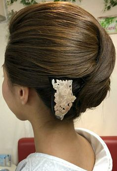 Hair Arrange, Up Styles, Hair Dos, Style Me, Kimono, Hair Beauty, Hairstyle, Bridal, Lady