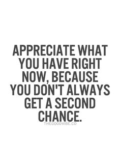 So true. But thank God for those second chances. :)