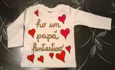 Maglietta bebè dipinta a mano Serena Gallo Info cosedipinte@gmail.com