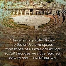 Because we have learned to rise - Brene Brown Awakening Quotes, Spiritual Awakening, Brene Brown Rising Strong, Brene Brown Quotes, Daring Greatly, Pema Chodron, Alan Watts, Spiritual Messages, Soul On Fire