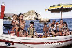 Dolce & Gabbana – Childrenswear Ad Campaign Gallery - Spring Summer 2013