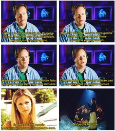 """Joss Whedon - THIS is why I'm cool with saying you're my master.  --- For those who grew up watching """"Designing Women"""" and remember when Mary Jo talked about wanting a movie with a real female hero...Thank you Joss, from all of us."""