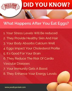 Improve your Health and Fitness by eating an Eggs!!  Visit us @ www.poultryprotein.com