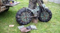 2x2 all terrain motorbike. Russian engineering. Wow.