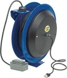 Coxreels Ez-Pc24-0012-F Safety Series Spring Rewind Power Cord Reel: Duplex Recept 100' Cord 12 Awg by Coxreels. $1219.75