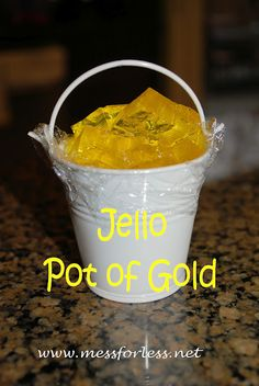 Jello pot of gold!