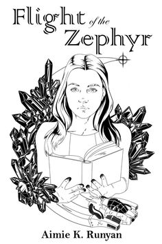 Illustration by Jennifer L. Lopez for Aimie K. Runyan's FLIGHT OF THE ZEPHYR, one of the stories in BRAVE NEW GIRLS