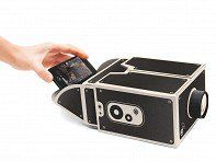 FUN Gadget for a surprisingly LOW price.  https://www.thegrommet.com/smartphone-projector?utm_campaign=20141114B