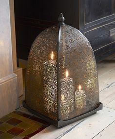 Moorish Iron Windlight.