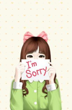 ♔ GIRL I'M SORRY NOTE HEART BACKGROUND SVG SILHOUETTE #CRICUT, #CRICUTEXPLORE
