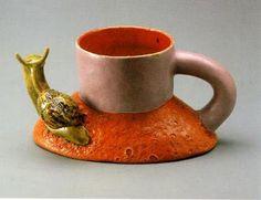 Ken Price Snail Cup, 1968