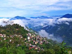 Gangtok is situated at northern Indian state of sikkim of country. There are many places to see like Hanuman tok, khecheopalri lake and rumtek monastery . Gangtok, Hanuman, Ultimate Travel, Places To See, Tours, Indian, Mountains, Country, Rural Area