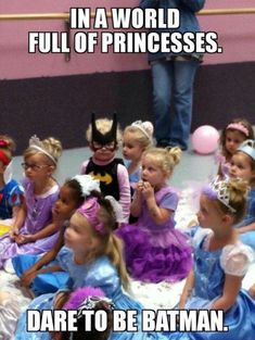 This is awesome! Way to go girl! Be yourself. Be different.