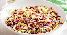 Whip together your own homemade coleslaw with this quick and easy recipe.