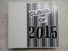 6x6 Class of 2015 Graduation Scrapbook by SimplyMemories on Etsy.  Great Grad Gift!