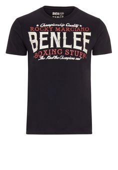 Benlee Rocky Marciano BOXING STUFF Black pánske tričko