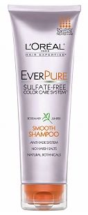 It's formulated without sulfates and is 100% vegan. This shampoo and conditioner leaves my hair soft, smooth, frizz-free, and keeps my color vivid for much longer than usual. The best part? The price! You can snag L'Oreal EverPure Smooth Shampoo and Conditioner from drugstore.com for $6.99 each!