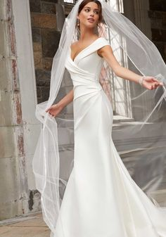 Browse Blu collection for signature Wedding Dresses & Bridal Gowns collection from Classic Morilee Collection. Choose your best wedding dress & gown now. Beach Wedding Attire, V Neck Wedding Dress, Wedding Dress Trends, Elegant Wedding Dress, Bridal Wedding Dresses, Dream Wedding Dresses, Elegant Dresses, Sexy Dresses, Summer Dresses