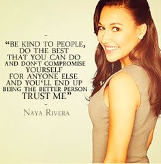naya rivera quotes - Google Search