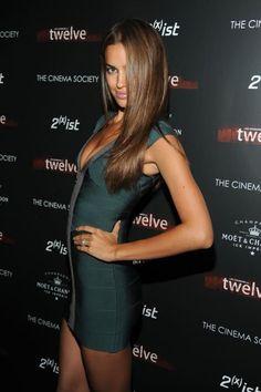 Herve Leger Irina Shayk Bandage Dress