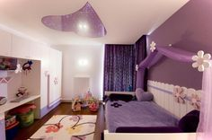 Bedroom Ceiling Lighting Ideas for Kids with Pink Color Schemes