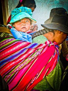 La Paz, Bolivia #babywearing