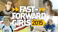 "GoldieBlox's lastest video ""Fast-Forward Girls 2015,"" celebrates today's role models and the generation of girls they've inspired."