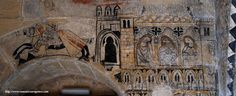 Item Fresco From Castle-Convent of the Knights of Calatrava, Alcañiz, Teruel, Spain Dating 1325-1347