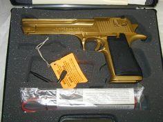 .50 cal Desert Eagle GOLD