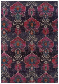 RugStudio presents Sphinx By Oriental Weavers Kaleidoscope 1140v Machine Woven, Better Quality Area Rug