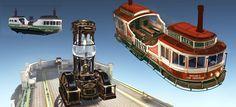 Bioshock Infinite Barge Concept