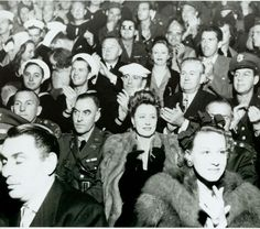 Historic Photograph of Irene Dunne At The Hollywood Canteen