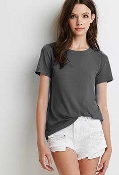 Camiseta Rotos Decorativos | Forever 21 - 2000097714