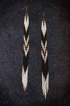 Ghost Dancer Hand Beaded 11 1/2  Long Seed Bead by TheGhostDancer