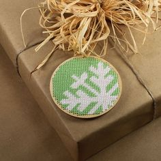 cross stitch ornament