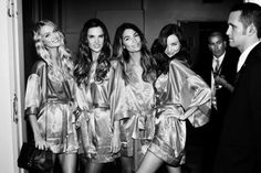 Victoria's Secret backstage Russell James