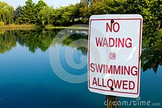 No Wading In Pond - Download From Over 47 Million High Quality Stock Photos, Images, Vectors. Sign up for FREE today. Image: 26440019