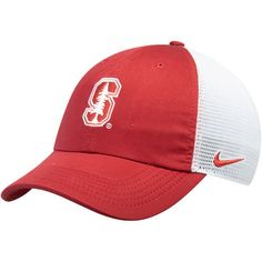 b58a4e69323 Men s Nike Cardinal White Stanford Cardinal Trucker Adjustable Performance  Hat