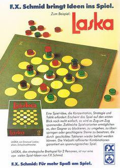 Laska (FX Schmid) 1987 magazine advert
