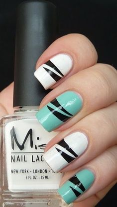 27 Simple and Cute Nail Art Ideas