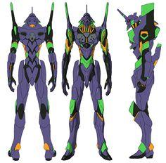EVA 01 Refined Concept by Garm-r.deviantart.com on @DeviantArt