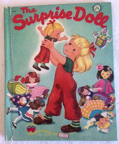 Vintage Wonder Books The Surprise Doll 1949 by LorisBoutique, $24.99