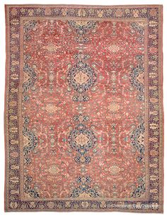 FERAHAN, West Central Persian 10ft 3in x 13ft 6in 3rd Quarter, 19th Century